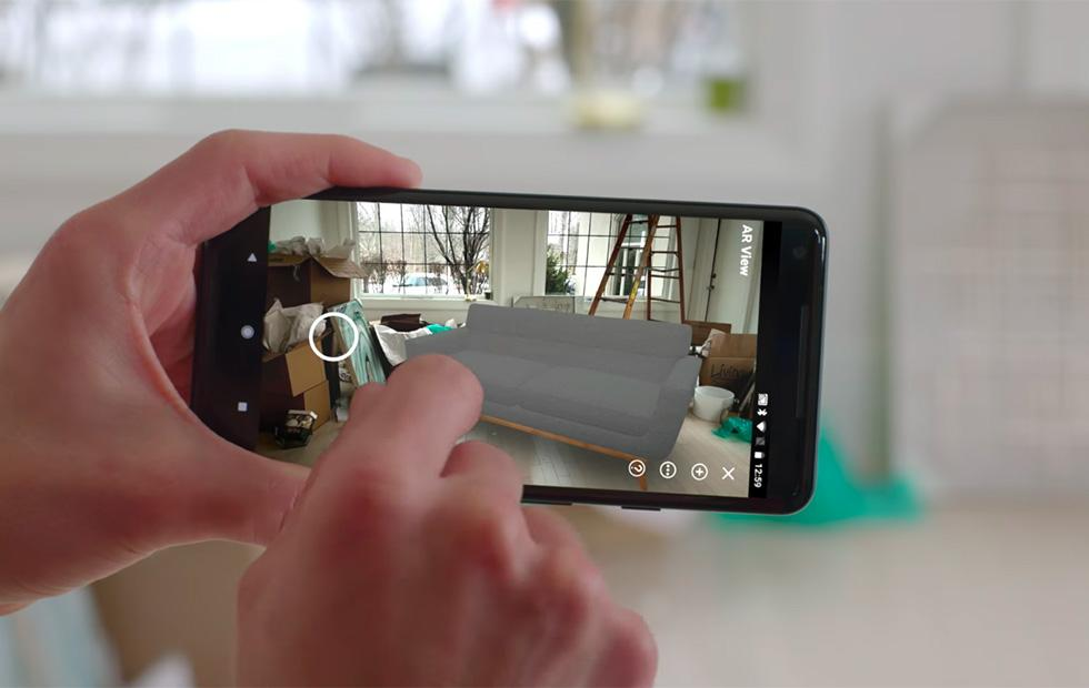 Amazon AR View shopping tool brings virtual product previews to Android