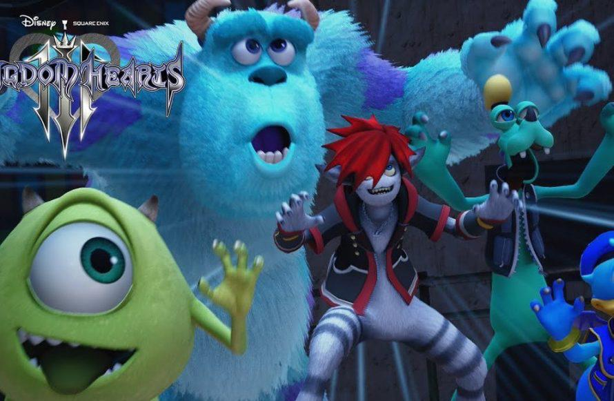 Kingdom Hearts 3 reveals Monsters Inc. world in new trailer