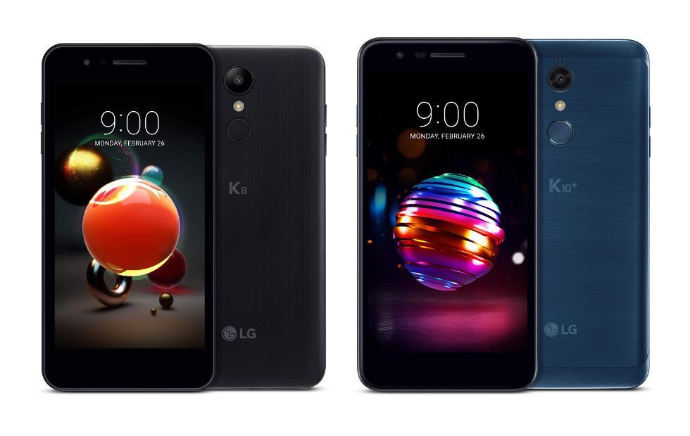 LG K10, K8 2018 phones put the focus on photos