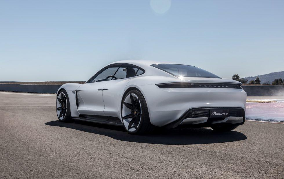 Porsche Mission E charger plan has Tesla in its sights
