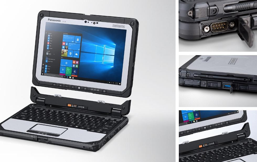 Panasonic Toughbook CF-20 Mark 2 comes with a second battery