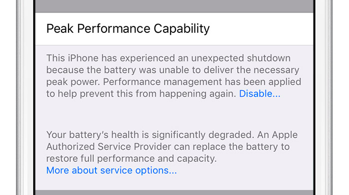 newest 2cf9b ce1d0 iOS 11.3 iPhone Battery Health feature detailed: here's your first ...