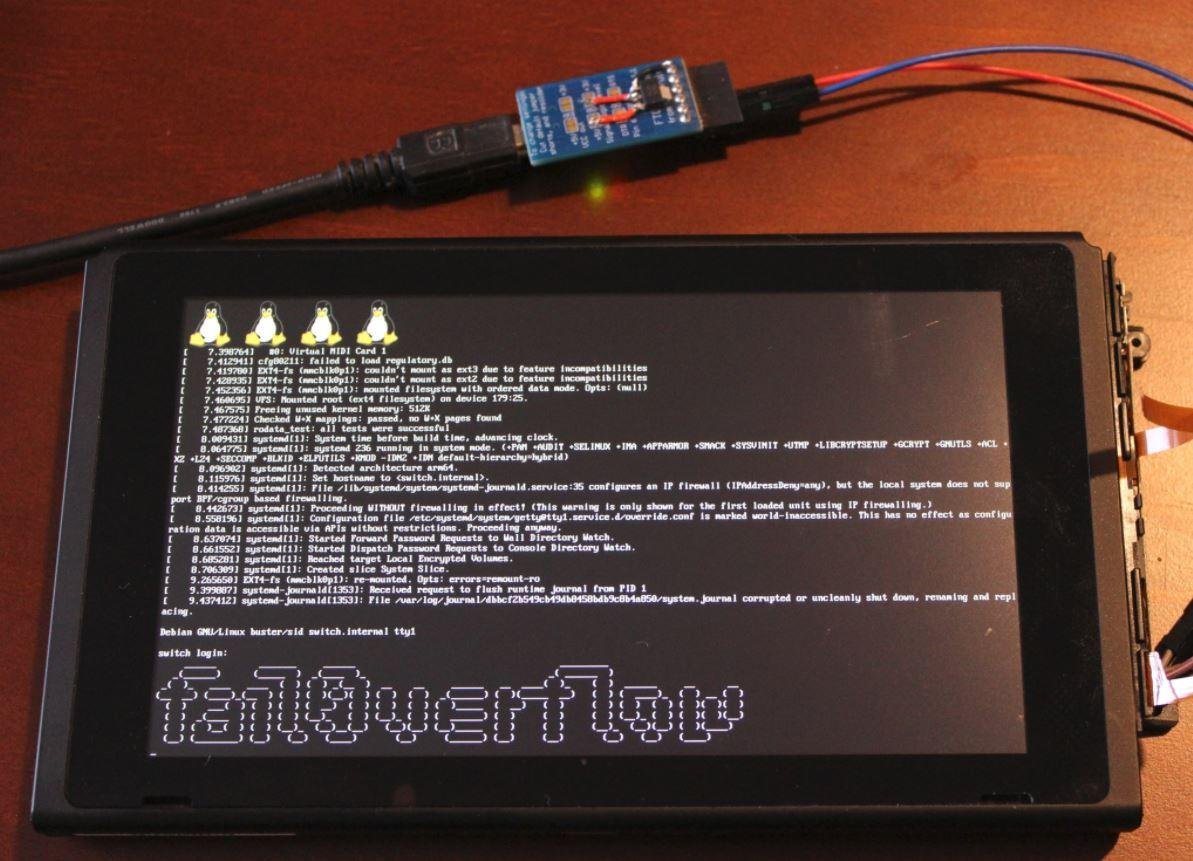 Nintendo Switch Linux hack offers good news for homebrew