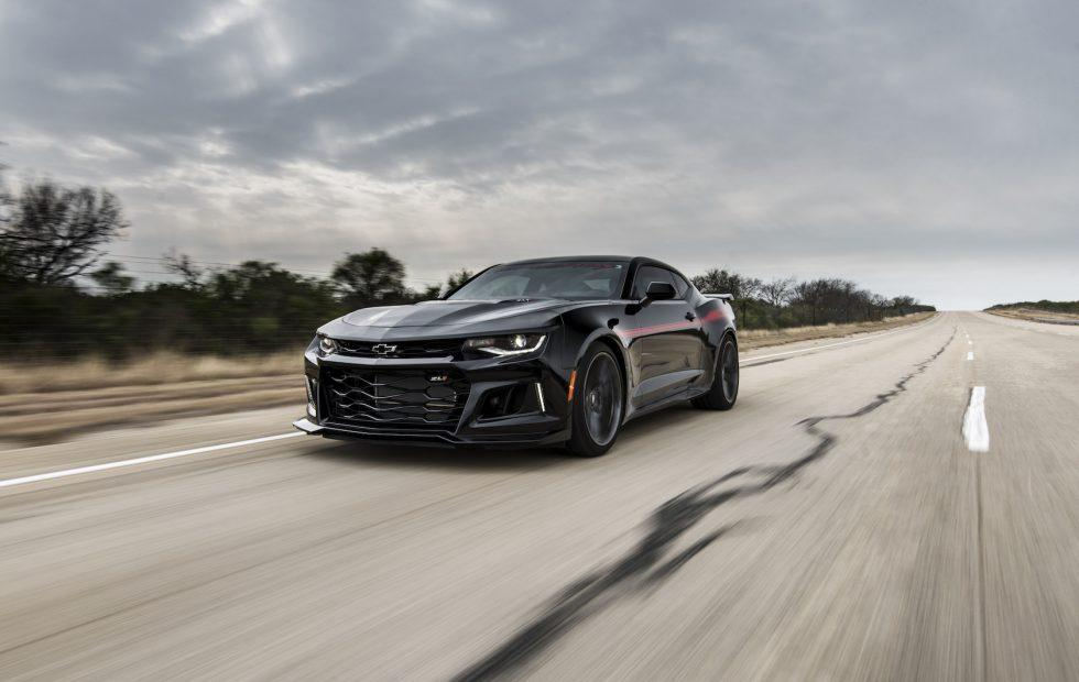 """Hennessey's 1,000 HP Camaro """"Exorcist"""" is a 217mph must-see"""