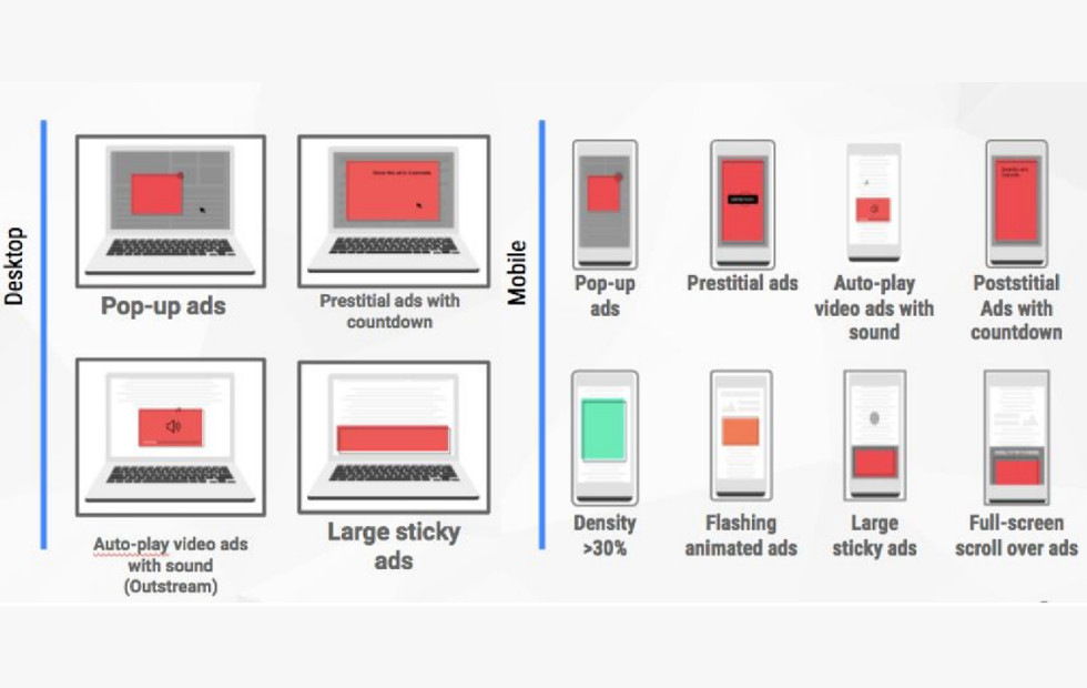 Google Chrome ad filtering crackdown: here's how it works