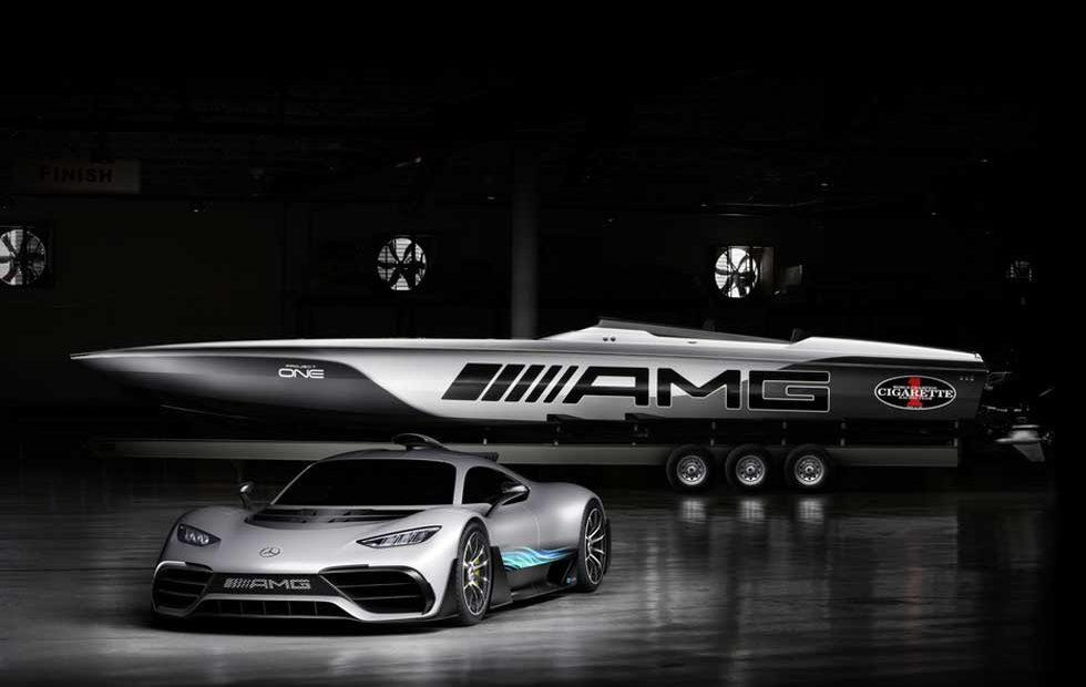 Mercedes-AMG and Cigarette Racing unveil Project ONE inspired racing boat