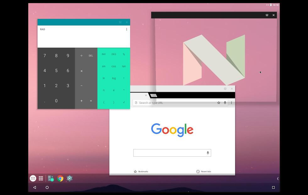Android-x86 7.1 brings Android Nougat to x86 computers