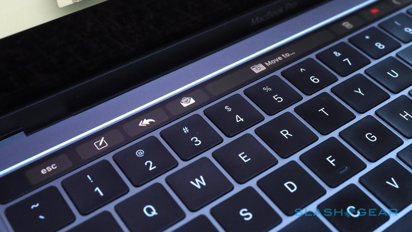 Apple's Touch Bar needs to grow up - SlashGear
