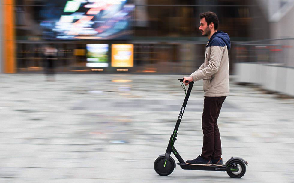 Archos Citee Connect is an Android-powered electric scooter