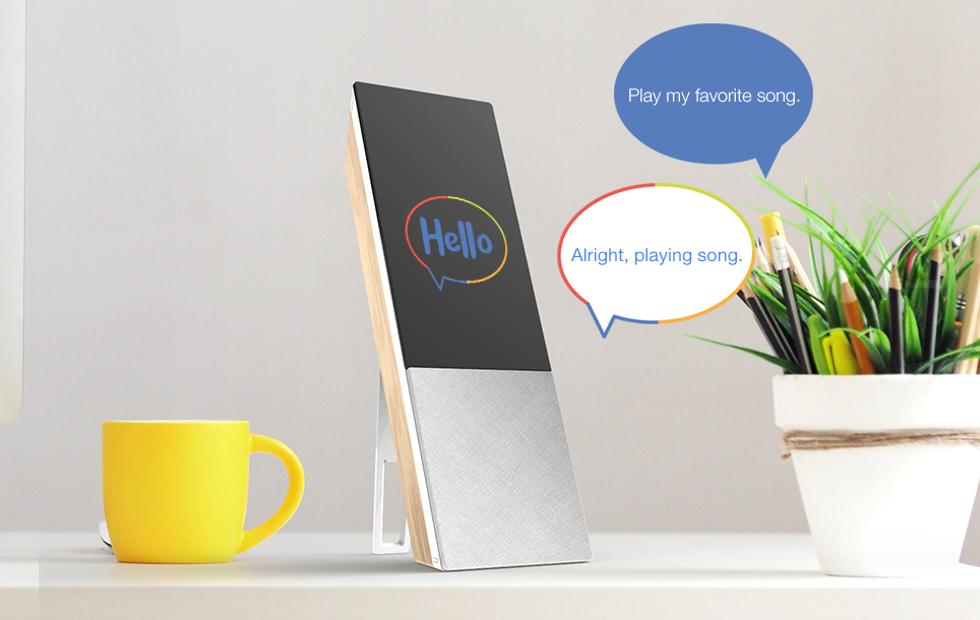 ARCHOS Hello Google Assistant Smart Display greets MWC 2018