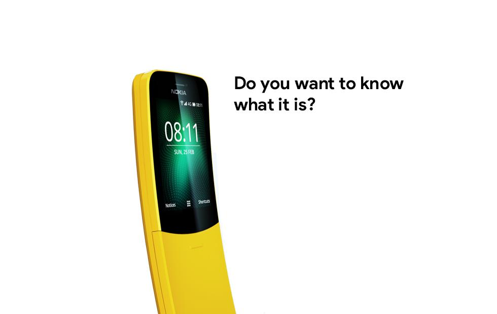 Nokia 8110 4G brings back the classic banana phone