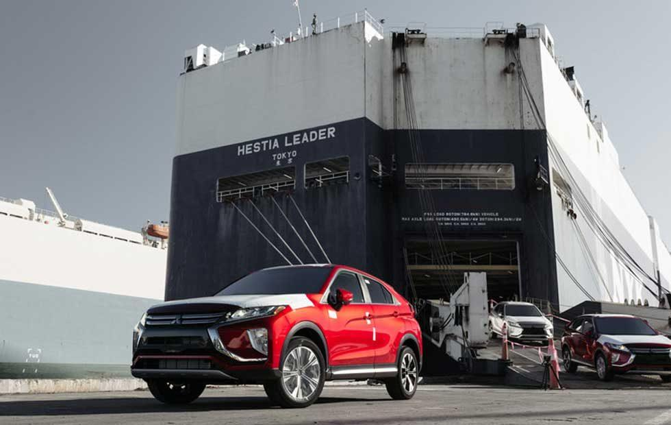 2018 Mitsubishi Eclipse Cross lands in the US