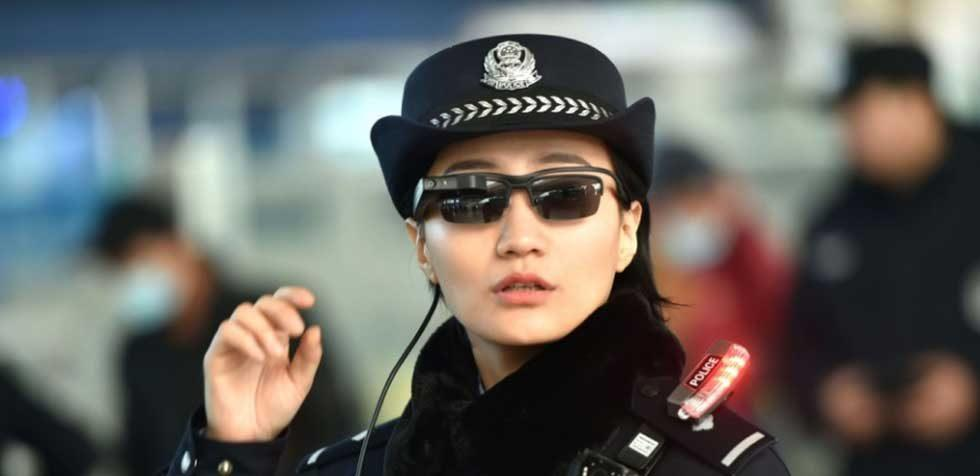 Chinese police use facial recognition glasses to find crooks