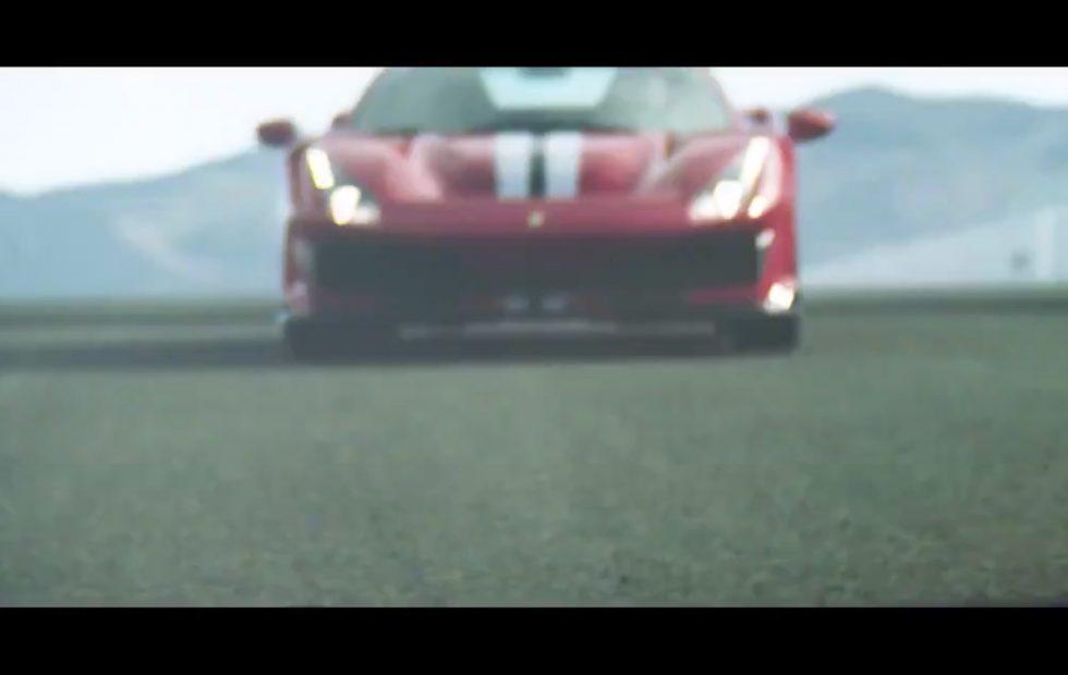Ferrari 488 GTO gets glorious video teaser