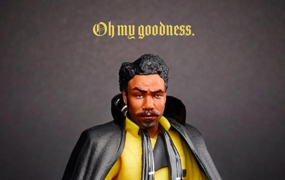 This Solo movie Lando action figure just changed my life