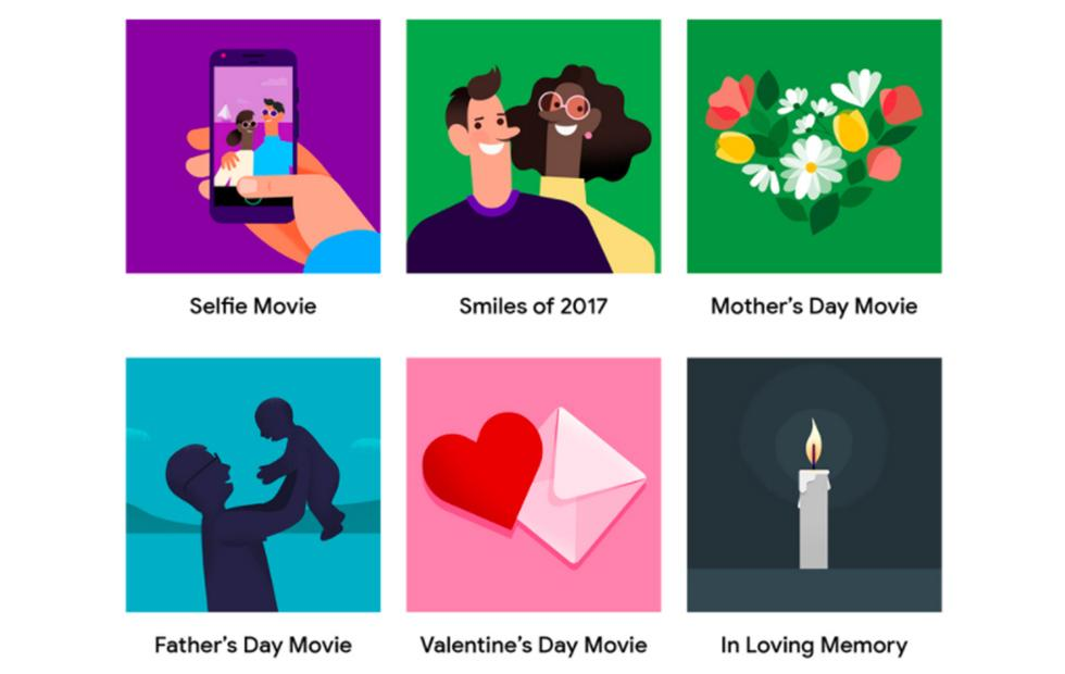 Google Photos adds DIY themed movies and photo books