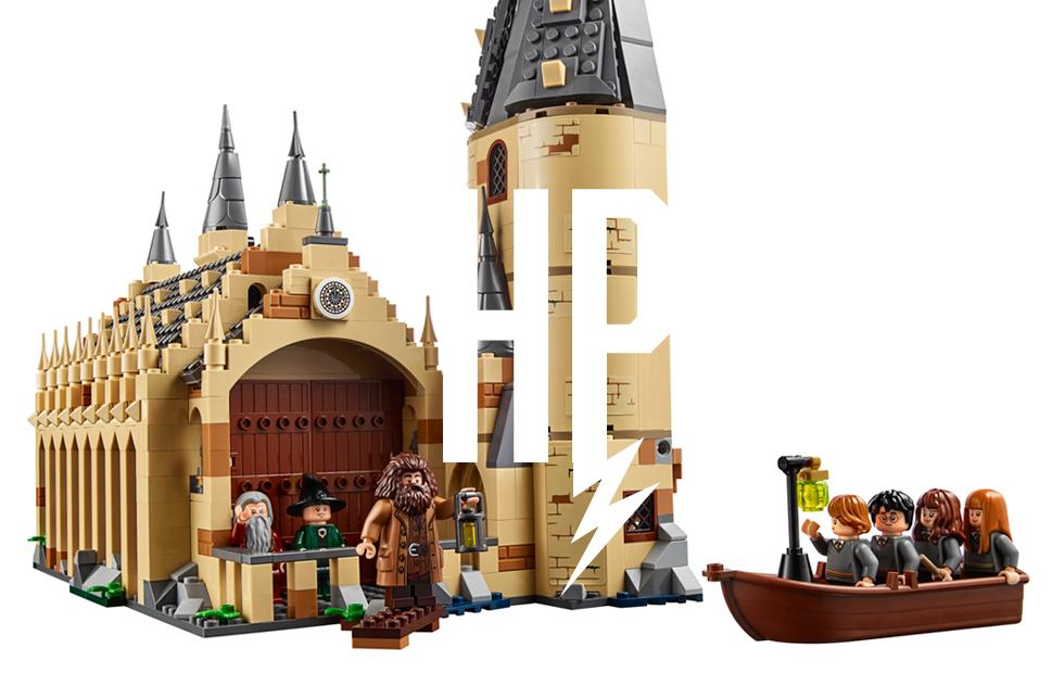 Harry Potter returns to LEGO with Hogwarts set remake
