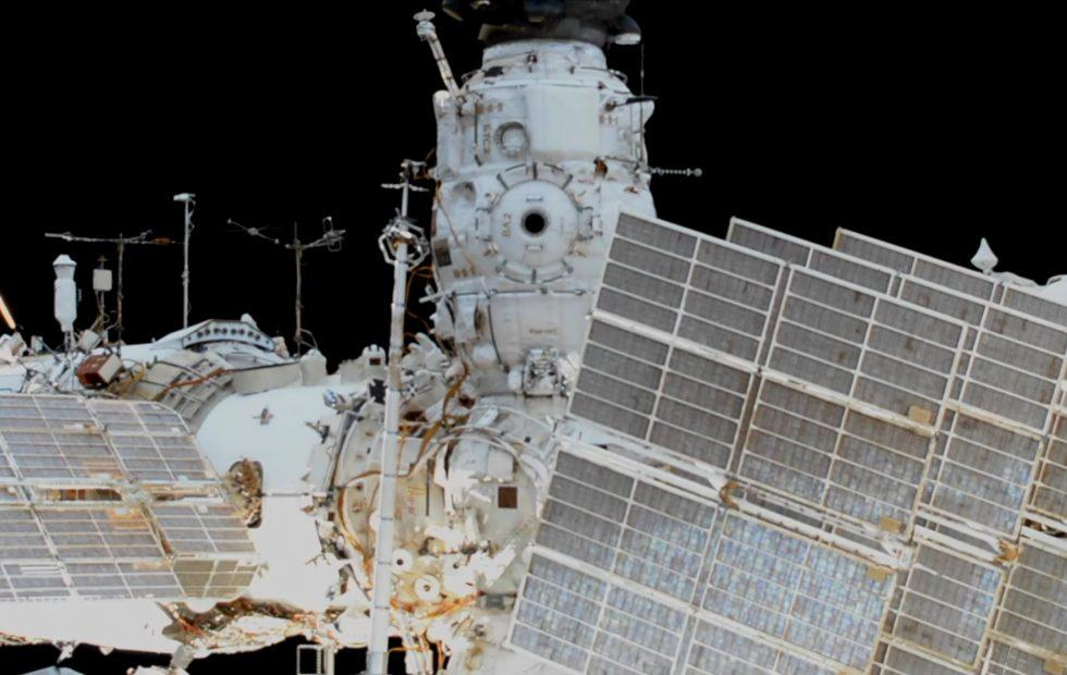 ISS spacewalk sets record but almost ends in disaster