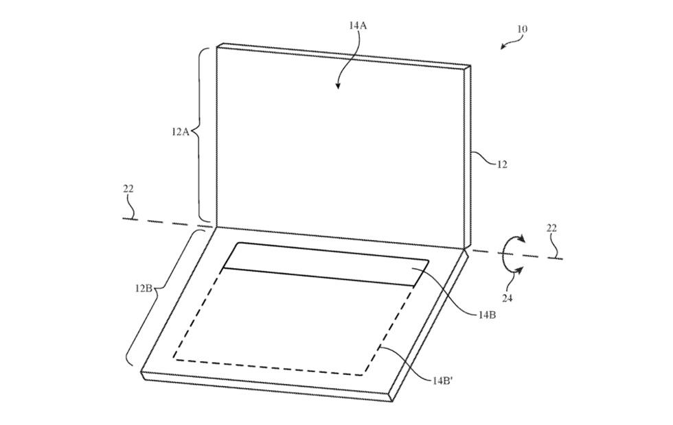 Apple patent details dual-display MacBook with OLED keyboard
