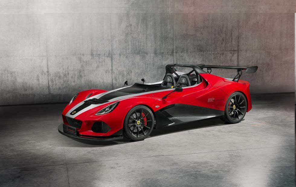 Lotus 3-Eleven 430 does 0-60 in 3.1 seconds, only 20 made