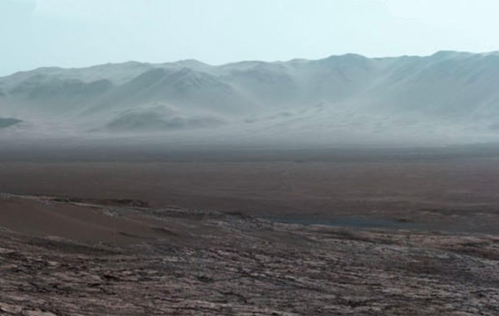 Curiosity rover's stunning new Mars panorama is unlike any other