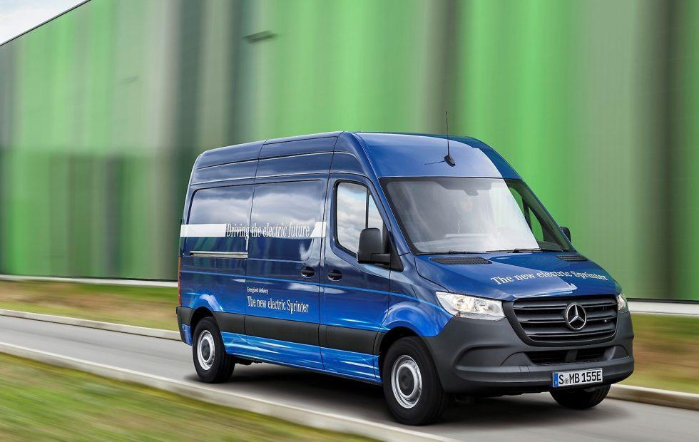 New Mercedes eSprinter EV headlines smart van range