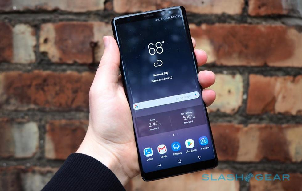 Galaxy Note 9 in-display fingerprint reader could shake up 2018 security