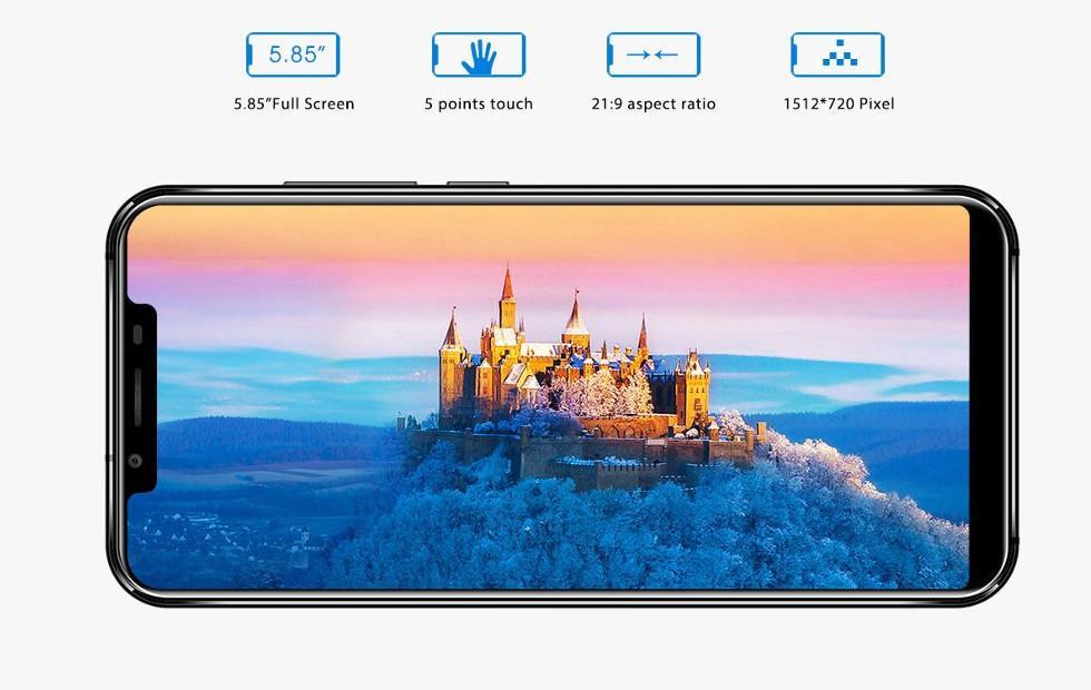 Oukitel U18 has 21:9 screen, looks like an iPhone X