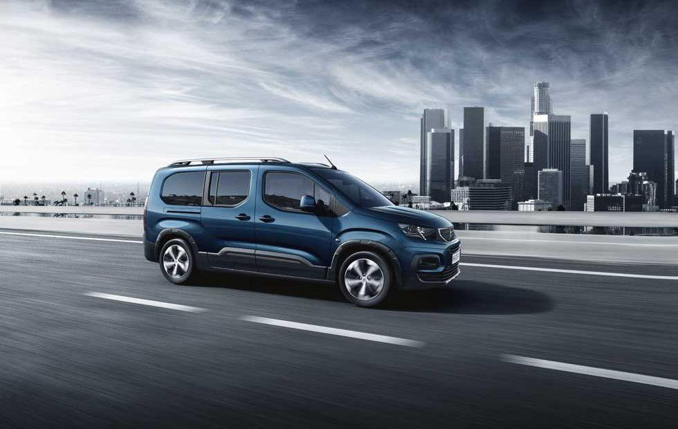 Peugeot Rifter van seats up to seven, debuts in Geneva