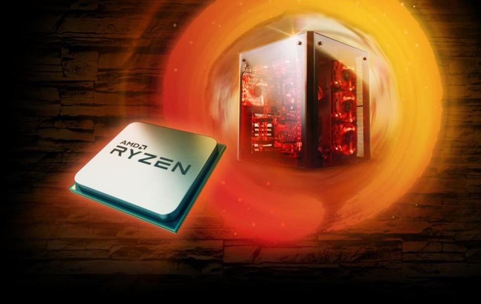 AMD Ryzen with built-in Vega graphics available now