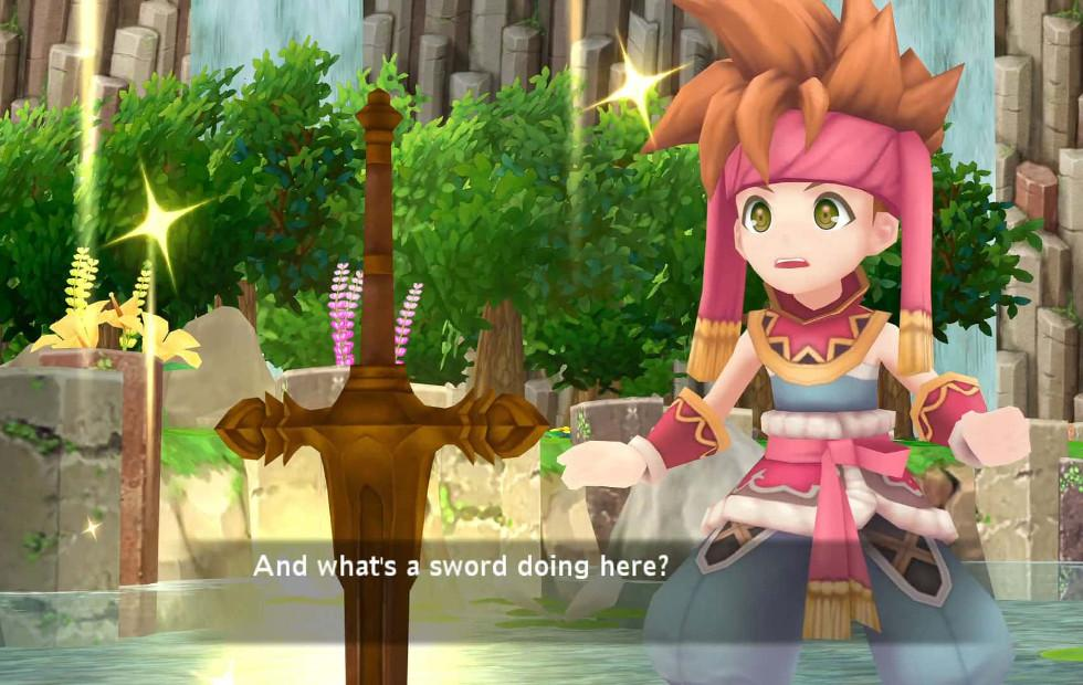 Secret of Mana Remake launches at last, PS4 discs too