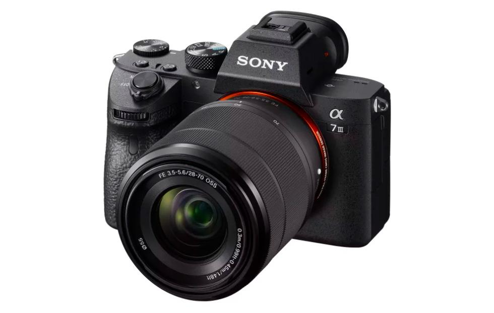 Sony a7 III full-frame mirrorless camera: 4K, BIONZ X, record battery life