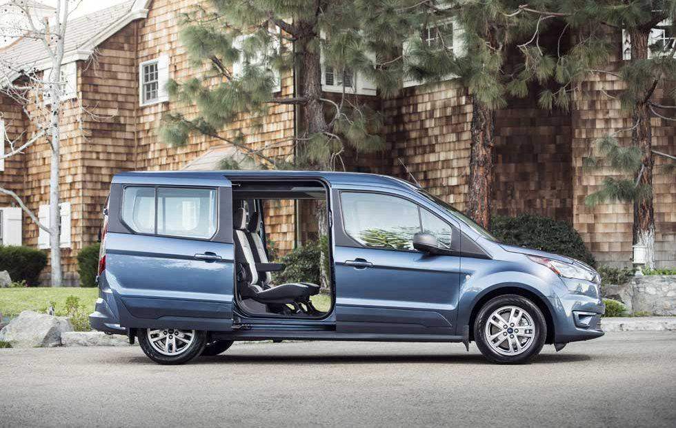 2019 Ford Transit Connect Wagon Aims At Active Baby Boomers