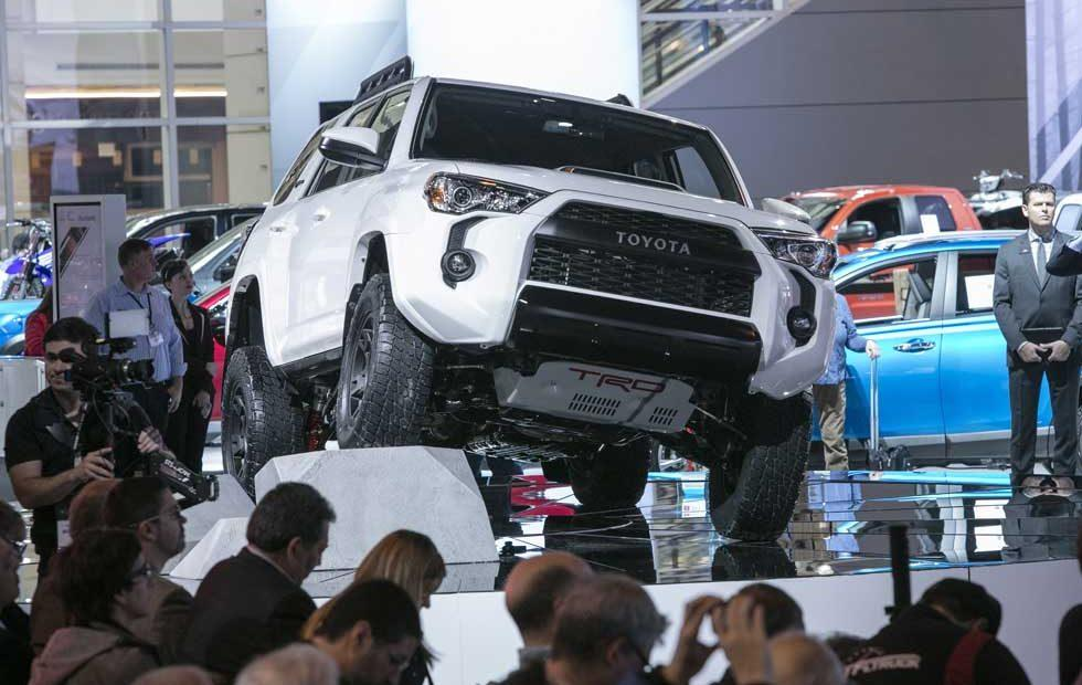 2019 Toyota TRD Pro line gets new shocks and accessories