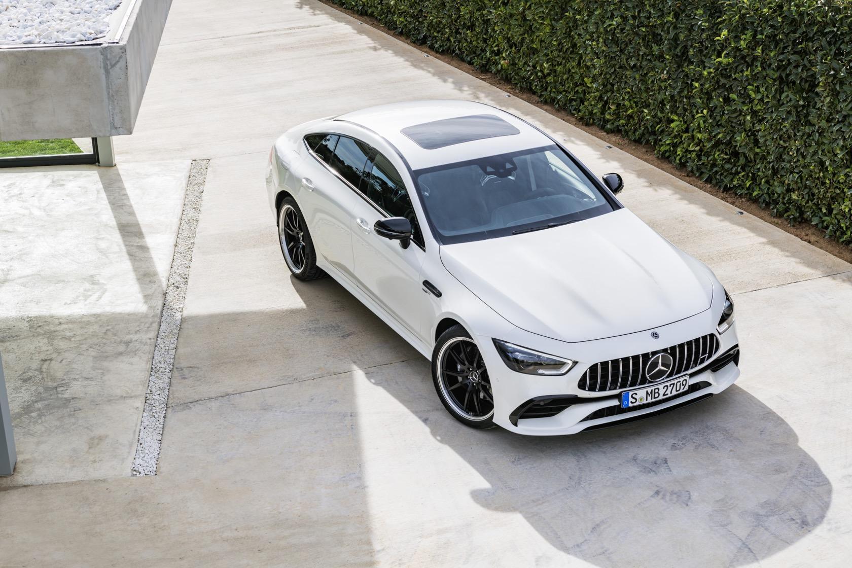 2019 Mercedes Amg Gt 4 Door Coupe Is Porsches 630hp Nightmare