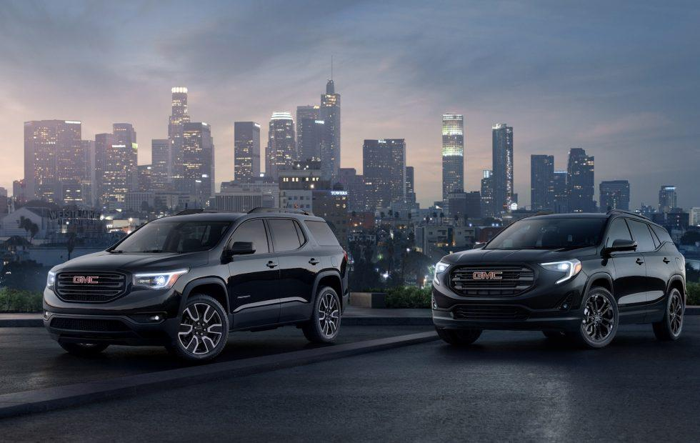 2019 Terrain and Acadia Black Editions see GMC get moody