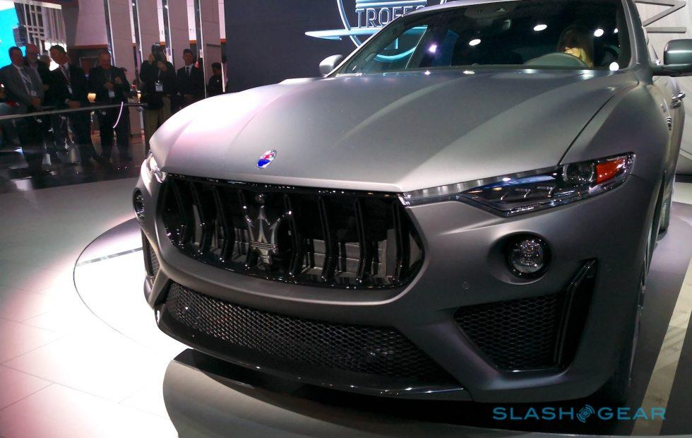 2019 Maserati Levante Trofeo first look: V8 gives SUV serious pace