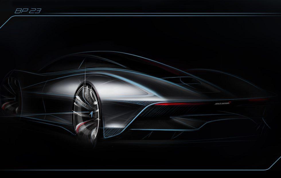 McLaren BP23 hybrid is a 243+ mph 3-seat Hyper-GT