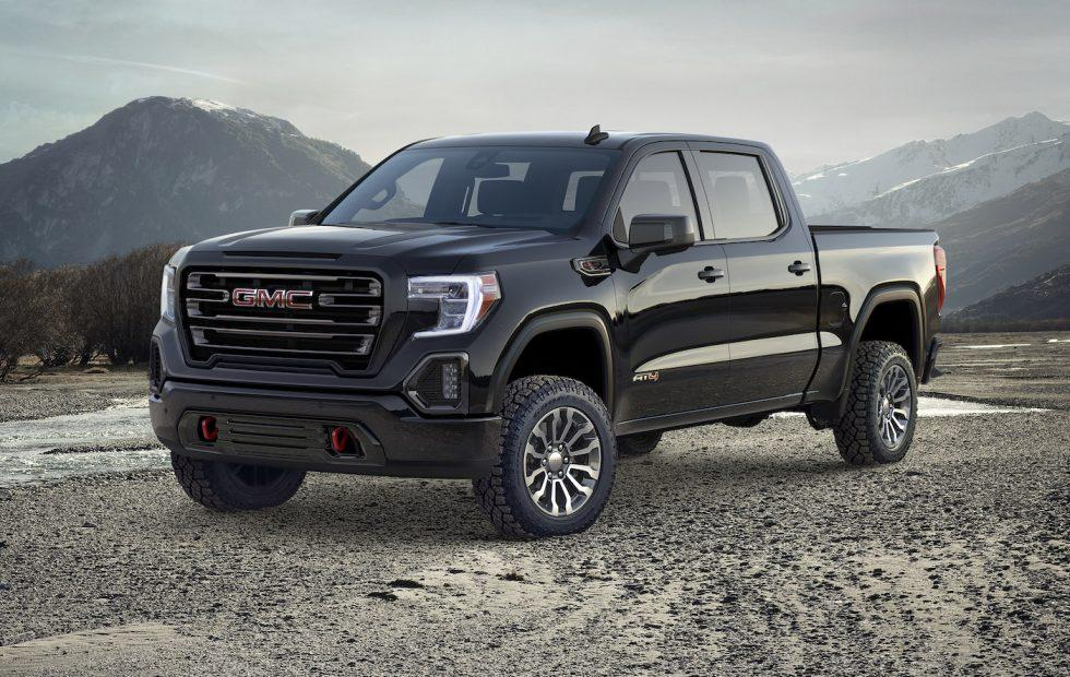 2019 GMC Sierra AT4 debuts lifted tech-savvy off-roading trim