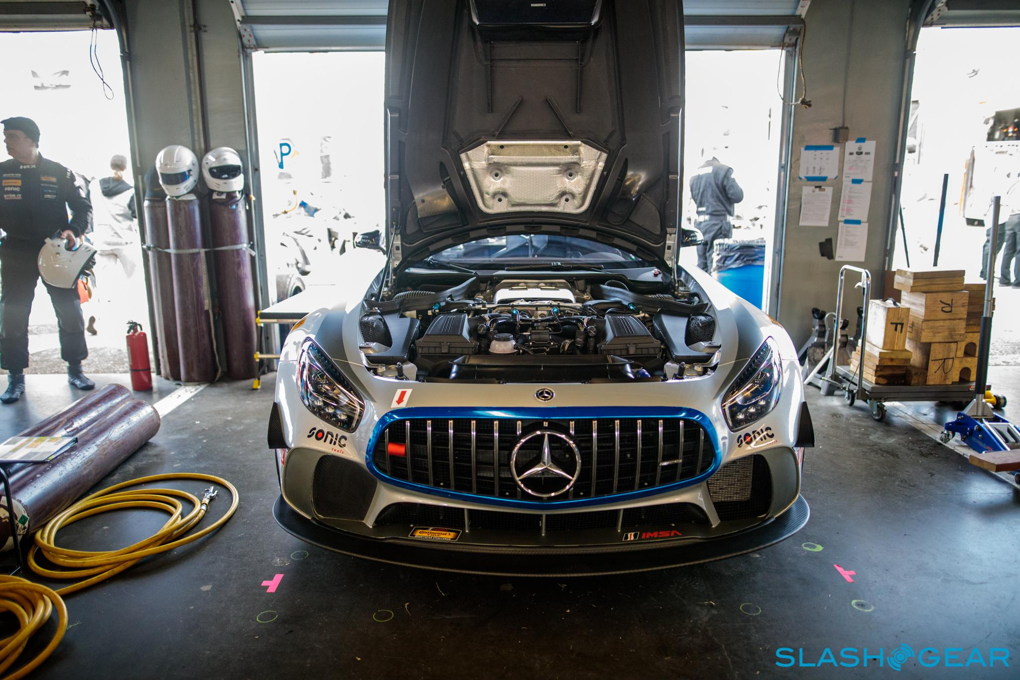 Mercedes Amg Gt4 >> Road To Racer Inside One Team S Big Mercedes Amg Gt4