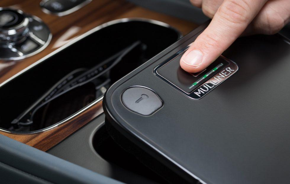 Bentley made a biometric safe for its luxury SUV