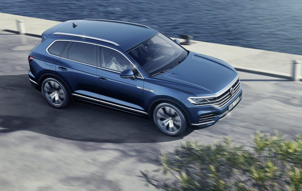 2019 Vw Touareg Adds Tech But Trims Weight For Luxe Suv