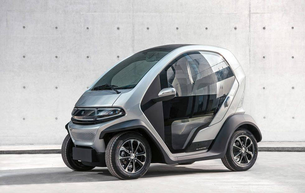 Eli Zero EV charges from any outlet in 6 hours and tops out at 25 mph
