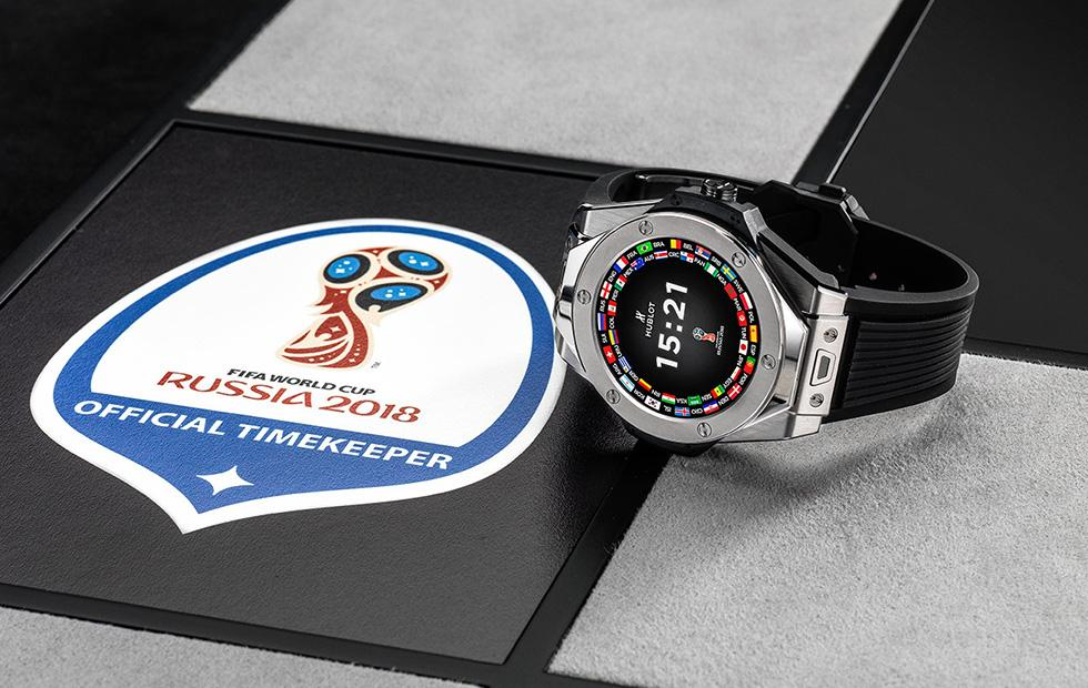 Hublot Big Bang Referee smartwatch is made for the 2018 FIFA World Cup