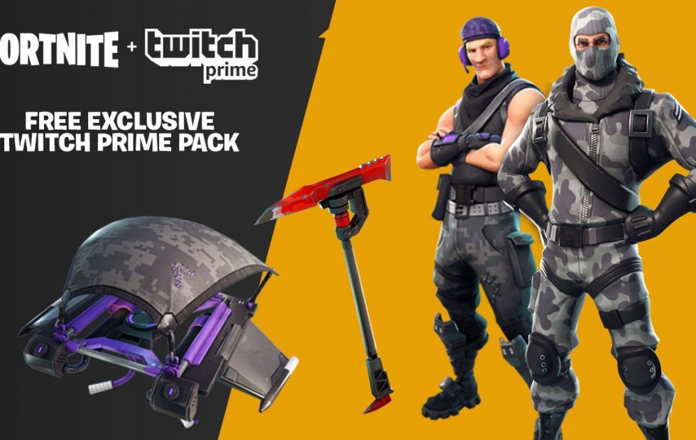 Fortnite gets even more free loot from Twitch Prime