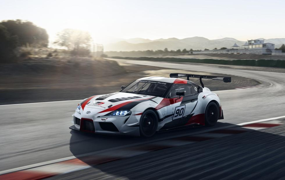 Toyota GR Supra Racing Concept brings a legend to the future