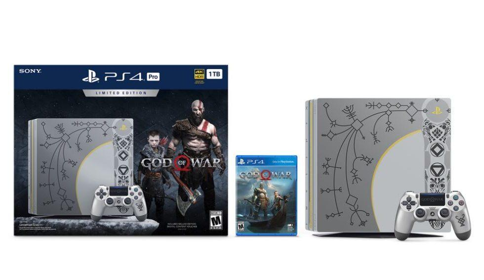 God of War gets a limited edition PS4 Pro bundle