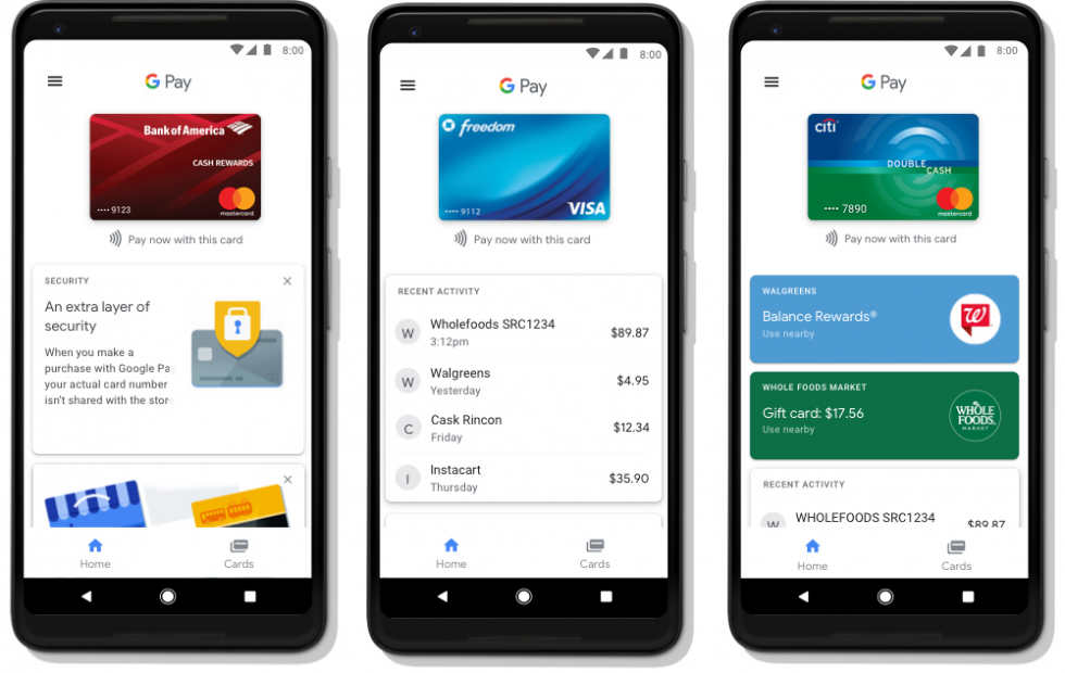 Google Contacts can send money via Google Pay Send