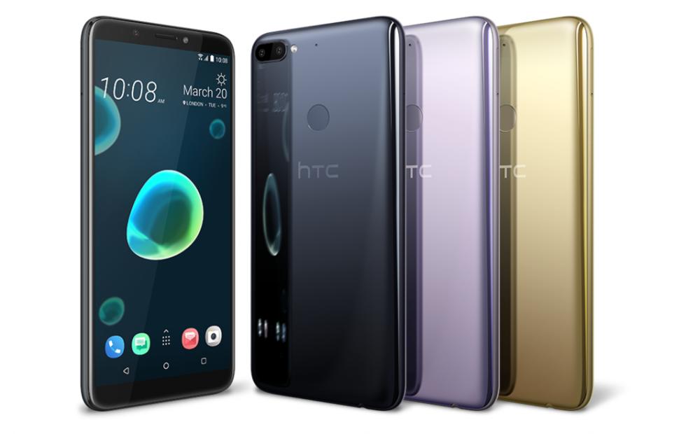 HTC Desire 12, 12+ boast big displays and dual cameras