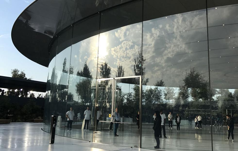 Apple Park 911 transcripts reveal perils of glass walls